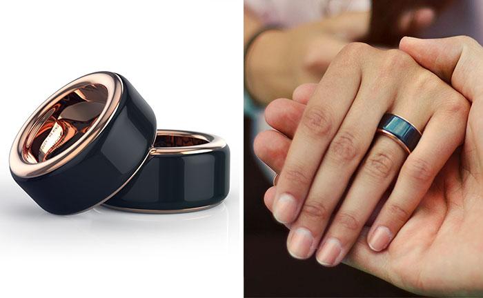Con este anillo puedes sentir el latido del corazón de tu pareja a tiempo real dónde quiera que estés