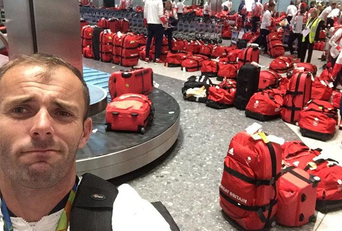 Todos los atletas olímpicos británicos tienen la misma maleta y nadie sabe cuál es la suya