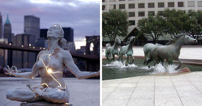 Resultado de imagen para esculturas impresionantes