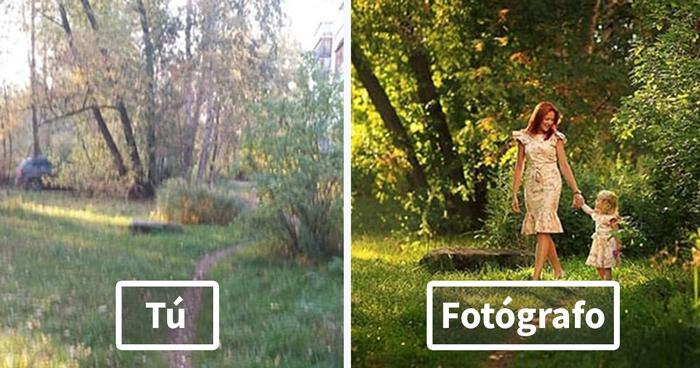Gente normal VS. Fotógrafos: Este experimento muestra lo distinto que parece un mismo lugar