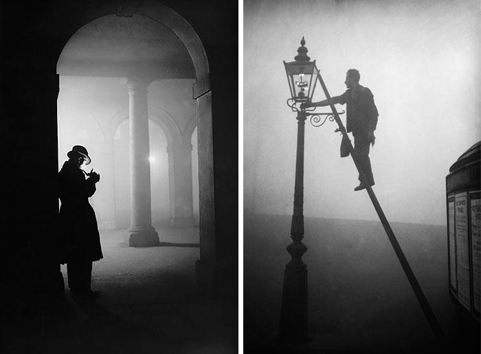 15 Fotos fantasmales de la niebla de Londres a principios del siglo XX