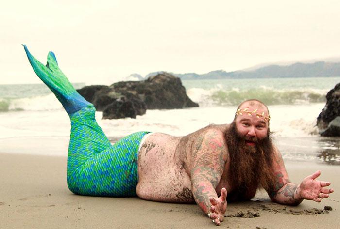 Dudeoir en la playa: Este hombre acaba de subir el nivel de todas las sesiones de fotos de duedoir