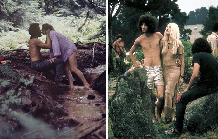 Cómo era realmente estar en Woodstock en 1969