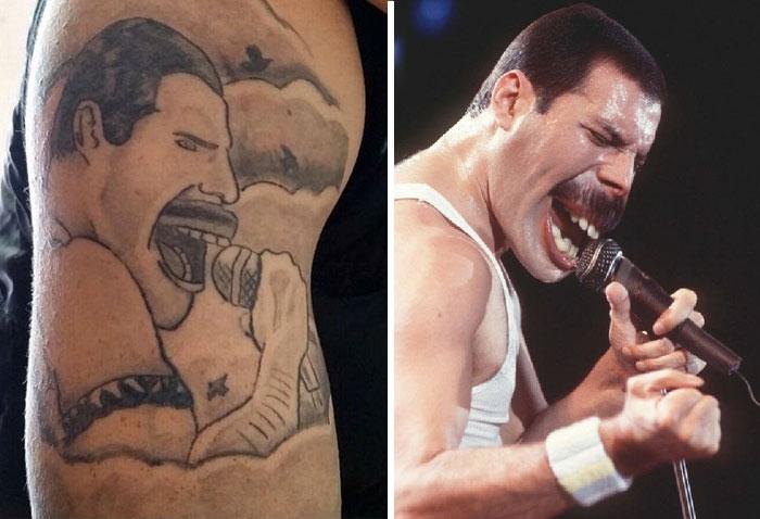 15 Terribles intercambios faciales que demuestran lo malos que son algunos tatuajes