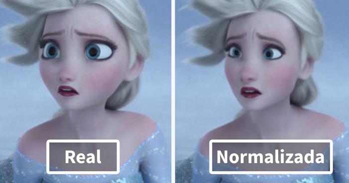 """Esta usuaria de Tumblr """"normaliza"""" los personajes de dibujos y ahora cuesta decidir cuál es mejor"""