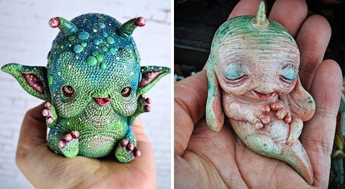 Fabrico extrañas criaturas