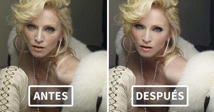 Madonna Antes Y Despues