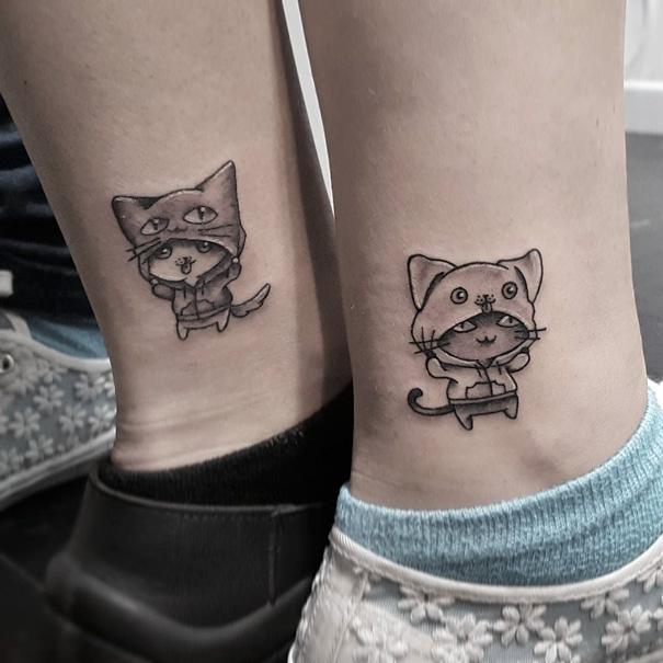 20 Ideas Para Tatuarte Junto A Tus Mejores Amigos Bored Panda