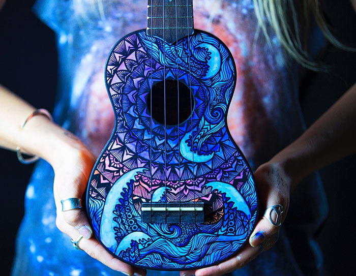 Convierto instrumentos musicales en arte