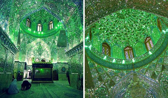 Esta mezquita parece normal por fuera, pero te dejará con la boca abierta si entras