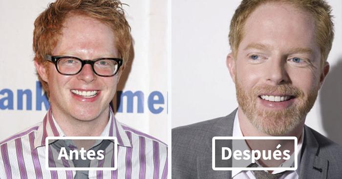 15 Fotos de antes y después que demuestran que los hombres están mejor con barba