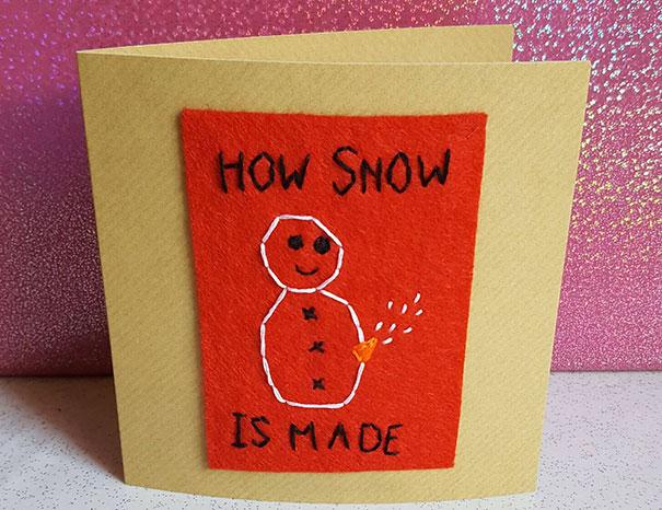 15 Divertidas tarjetas navideñas muy maleducadas para personas con un sentido del humor retorcido