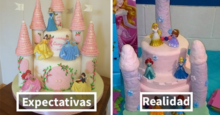 Expectativas vs. Realidad: 10+ de los peores fallos haciendo tartas