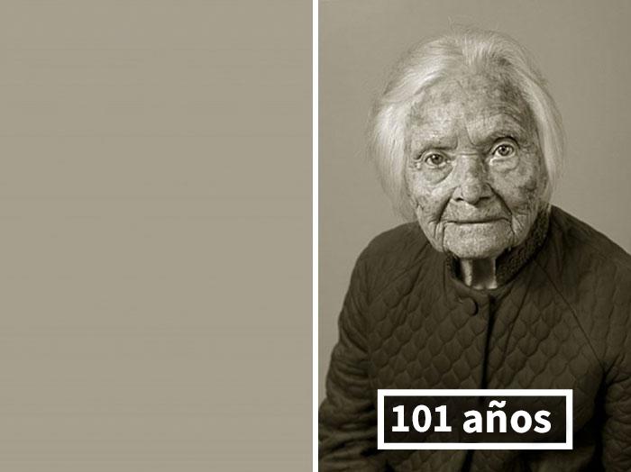 Marie Fejfarová, Su Historia Personal Fue Quemada; Aquí Con 101 Años