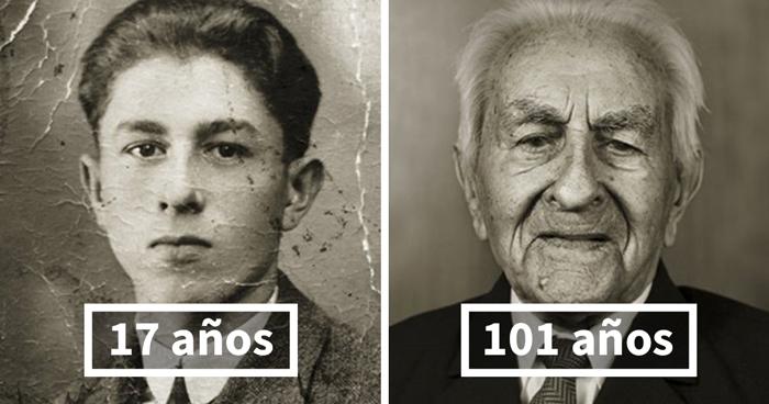 Antonín Baldrman, 17 (cerrajero Profesional) Y 101 Años