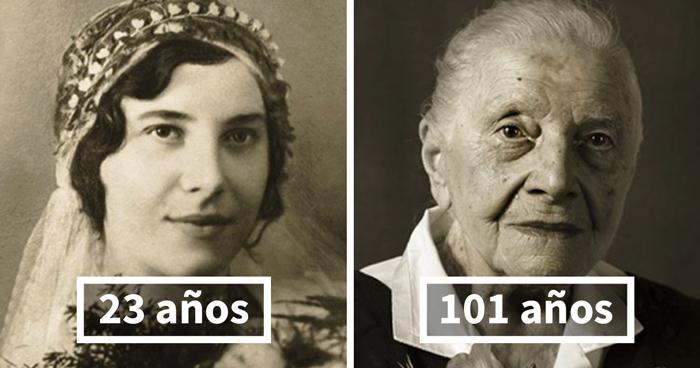 Marie Burešová, 23 (boda) Y 101 Años