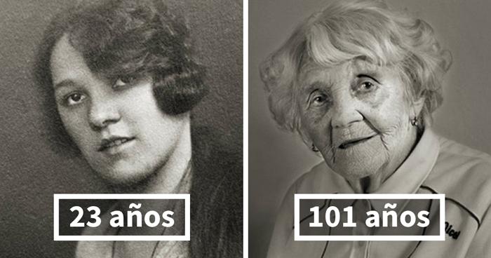 Vlasta Čížková, 23 (estudios Terminados En El Instituto Femenino) Y 101 Años