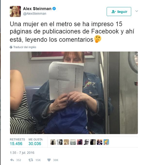 Esta Mujer En El Metro