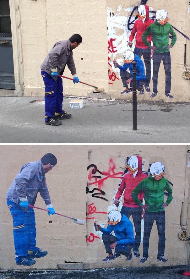 Venganza En Forma De Arte Urbano