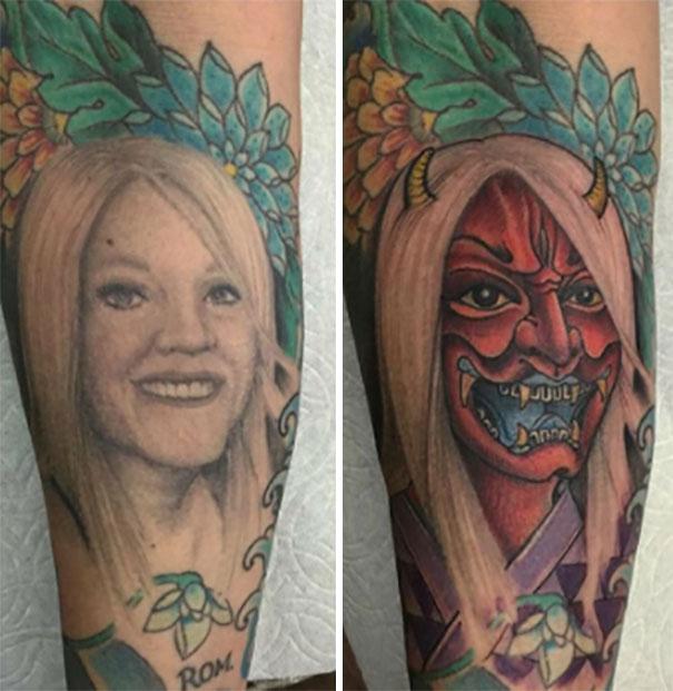 Mi Amigo Decidió Cubrir El Tatuaje De Su Exmujer