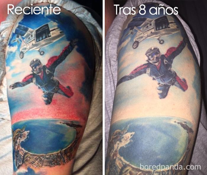 Estás Pensando En Tatuarte Estas Imágenes Revelan Cómo Envejecen