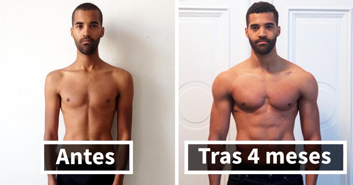 cambios antes y despues del gym