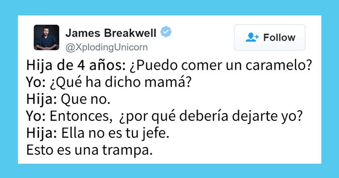 Este padre tuitea las conversaciones con sus 4 hijas y es imposible no reírse
