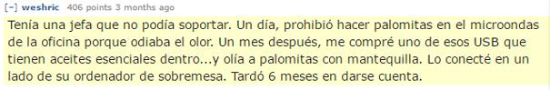 Venganza Con Palomitas