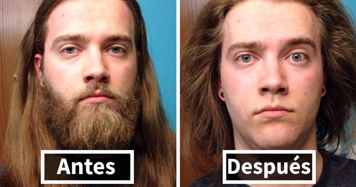 10+ Hombres antes y después de afeitarse que te costará creer que sean los mismos