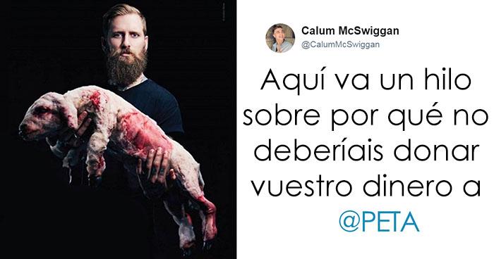 Este hombre critica brutalmente a PETA en twitter y la gente empieza a darse cuenta de la verdad