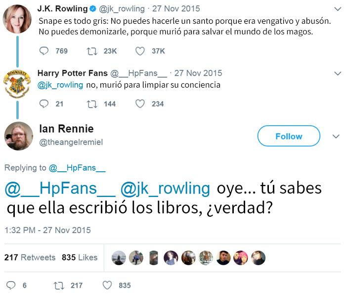 Este Fan De Harry Potter Sabe Más Que La Autora