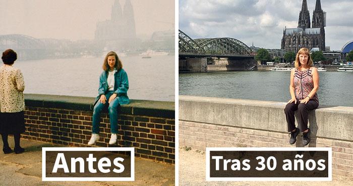 30 Años después: los mismos sitios pero distinta yo