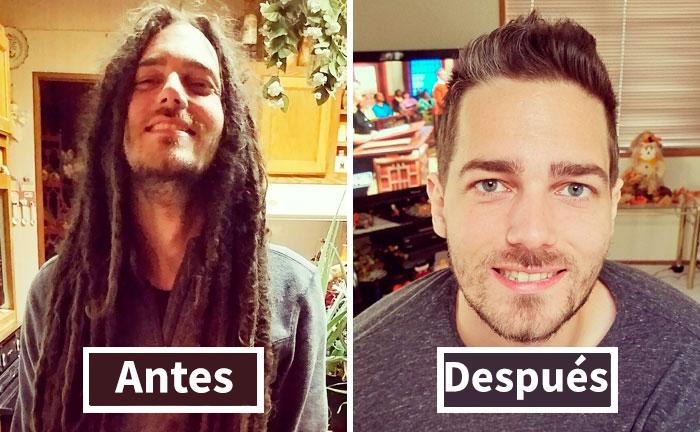 10+Fotos increíbles antes y después de un corte de pelo que demuestran que un buen peluquero es como un cirujano plástico