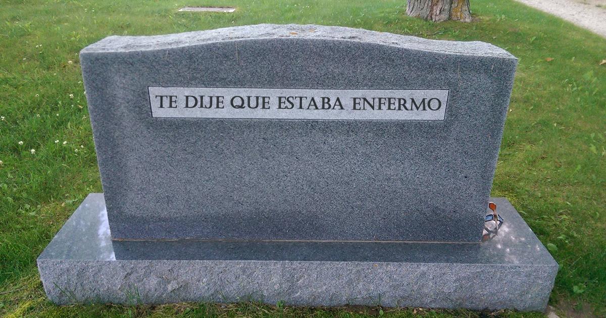 10+ Ingeniosas tumbas de personas cuyo sentido del humor siempre pervivirá