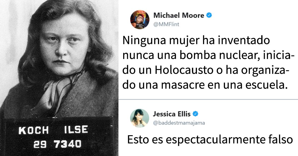 Michael Moore intenta demostrar que las mujeres son mejores que los hombres, pero esta mujer le quitó la razón de forma brillante