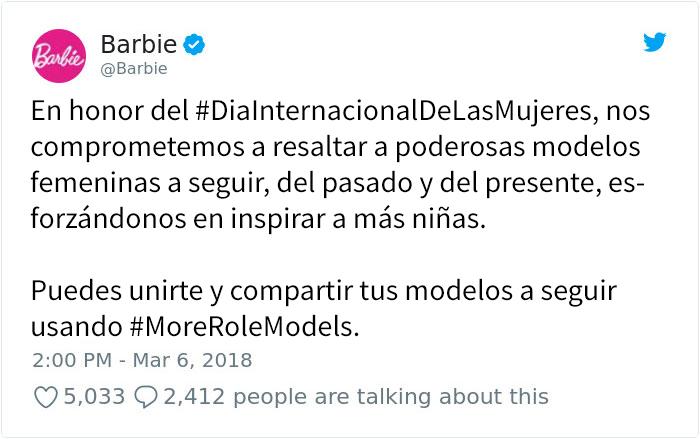 Barbie muestra 17 nuevas muñecas basadas en mujeres inspiradoras como Frida Kahlo y Chloe Kim