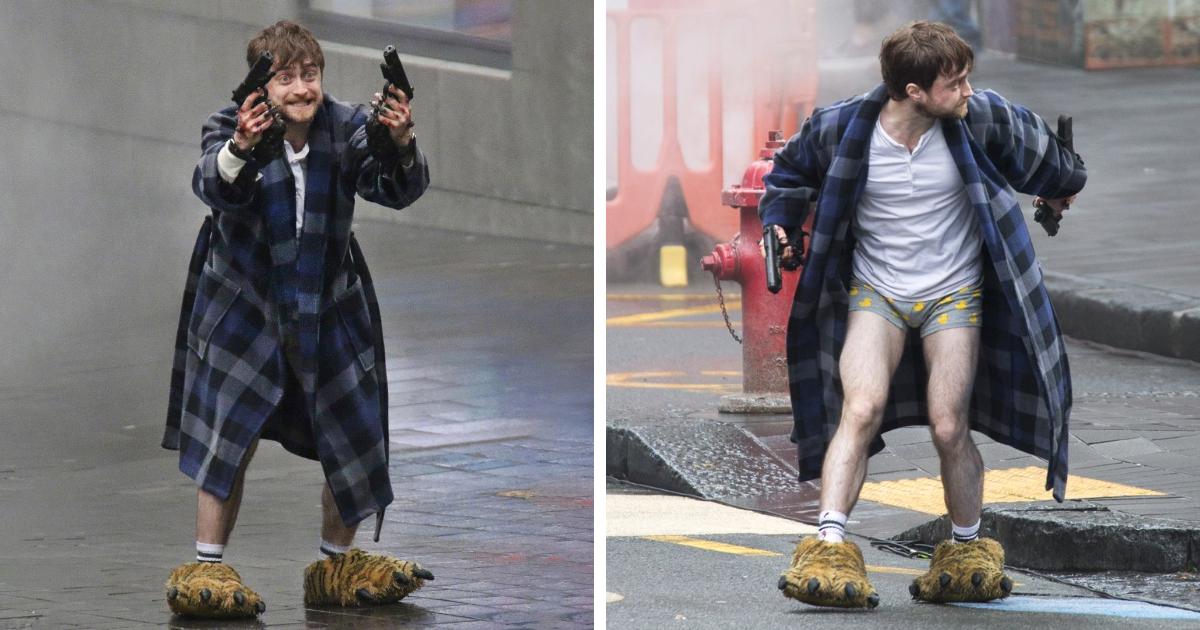 No paran de salir memes con estas fotos de Daniel Radcliffe, y el resultado es divertidísimo