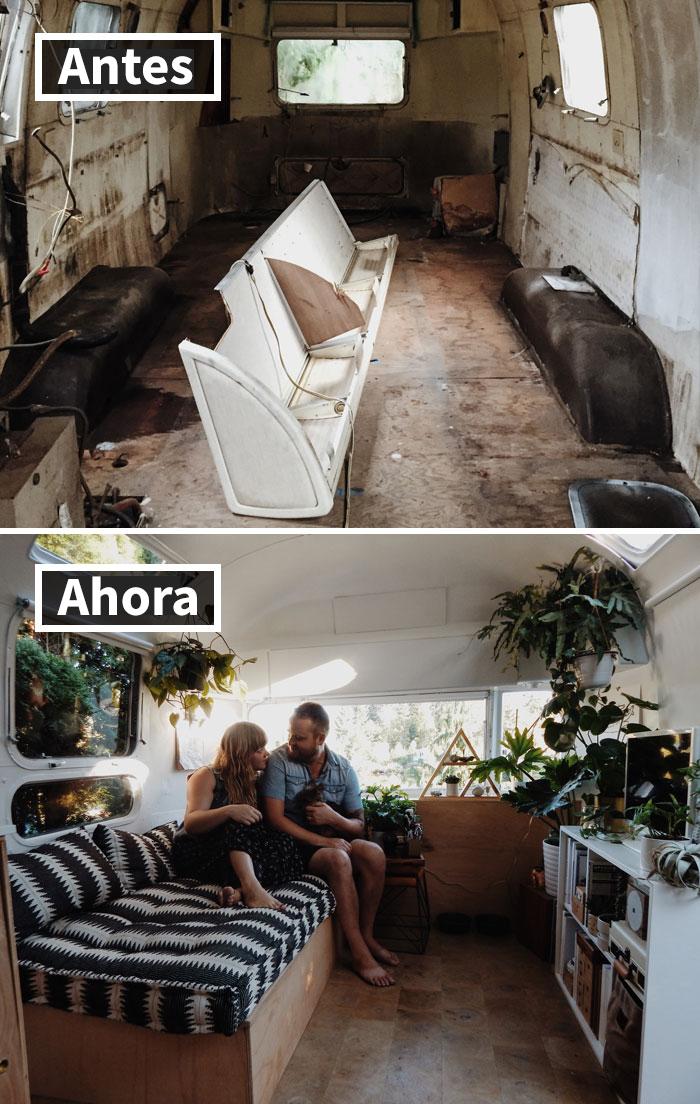 Cambio Radical De Una Caravana Airstream