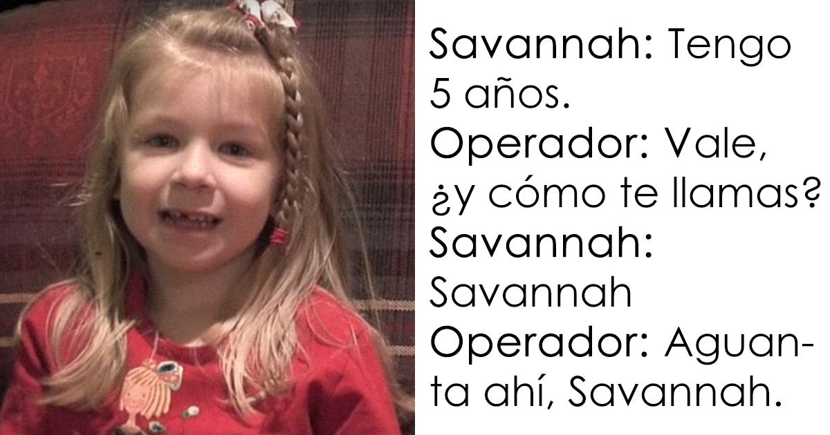 Esta niña de 5 años llamó a Emergencias para salvar la vida de su padre, y te sentirás culpable por reírte con su conversación con el operador