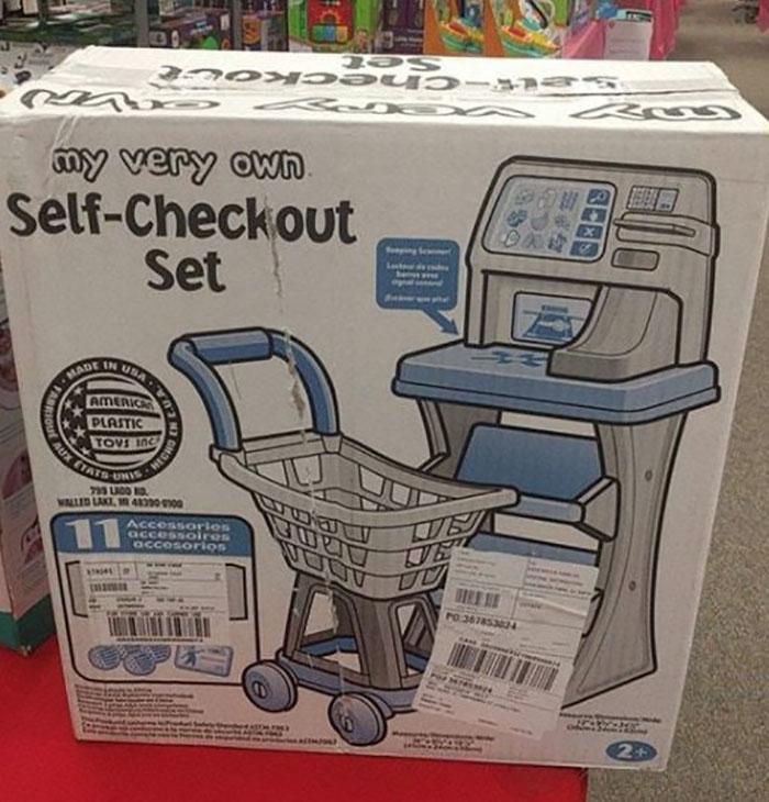 Ahora  Los Niños Pueden Jugar Con Su Propia Caja De Autoservicio Y Aprender Sobre Consumismo