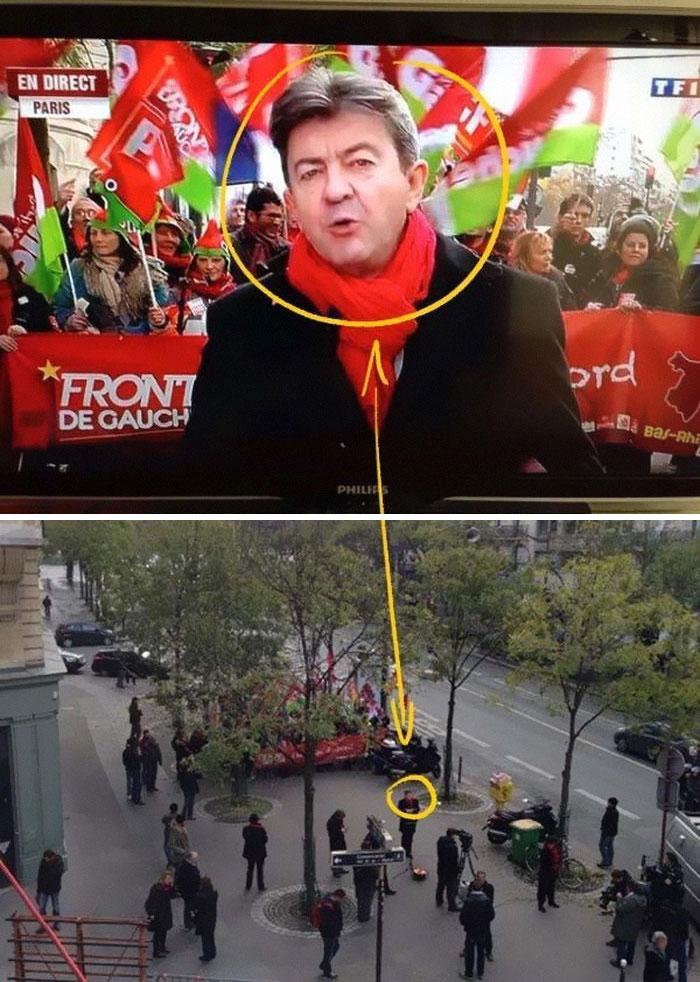 Manifestación Contra Los Impuestos En París