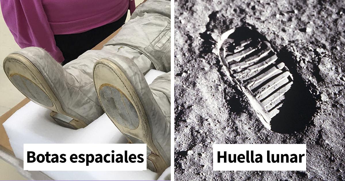 Un conspiranoico afirma que las huellas de la Luna no concuerdan con las de las botas de los astronautas, pero no se percató de un importante detalle