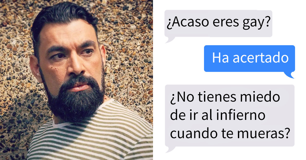 Este hombre fue rechazado como adoptante de un gato por ser gay, así que compartió los mensajes al respecto