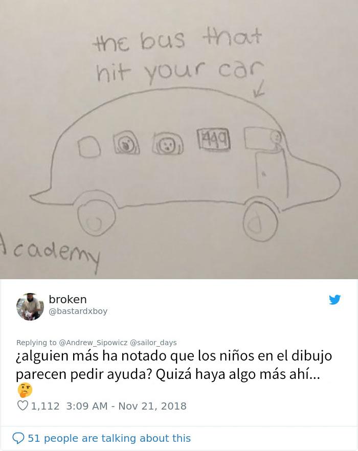 Este hombre descubrió que alguien había golpeado su coche, y encontró una divertida nota de una niña de 6º