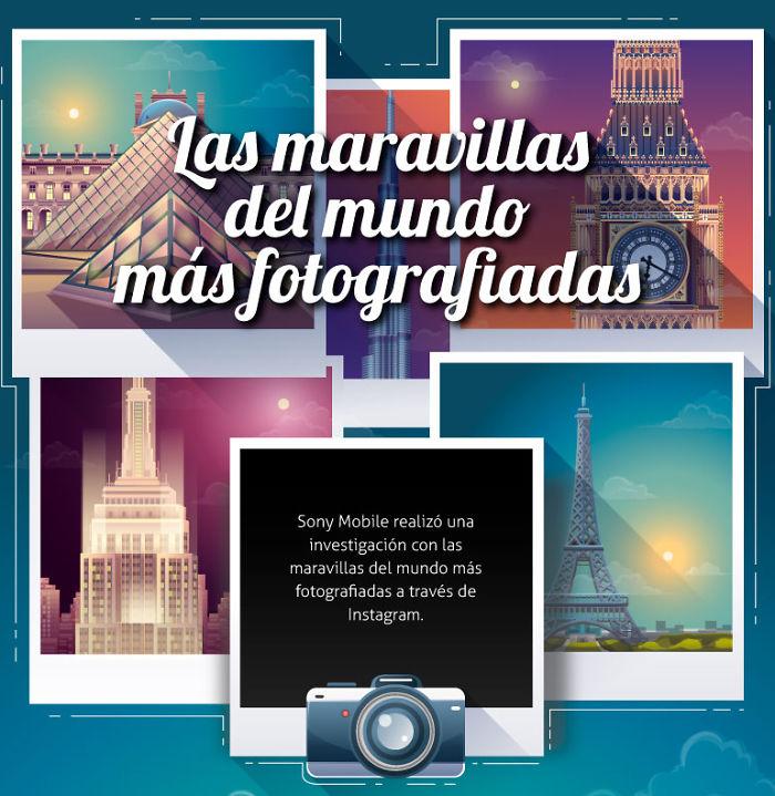 Conoce Las Maravillas Del Mundo Más Fotografiadas