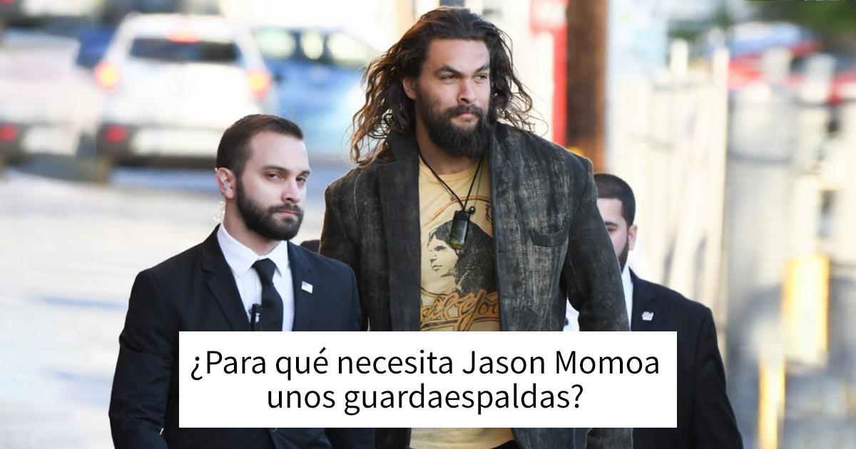 Los 20 memes más divertidos sobre Jason Momoa
