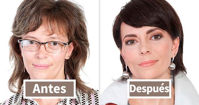 35 Increíbles transformaciones que muestran cómo la gente normal puede cambiar su aspecto drásticamente