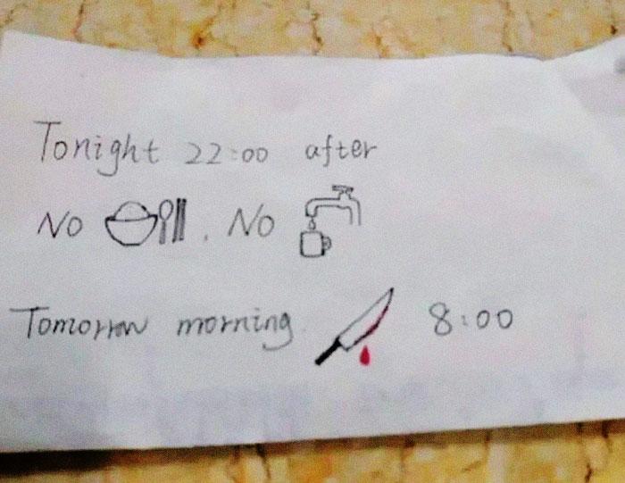 Un estudiante extranjero hospitalizado en China recibe una nota de una enfermera que no habla inglés y nos partimos el pecho con los comentarios