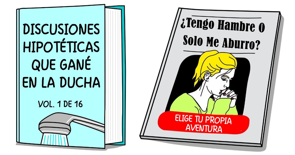 """30 Divertidas y honestas portadas de libros que cuentan la """"historia de mi vida"""""""