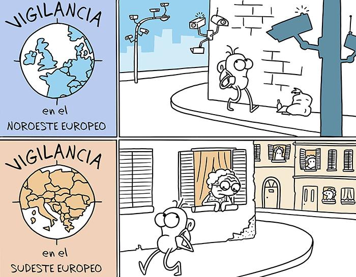 Este artista ilustra de forma divertida las diferencias entre países e idiomas en 30 tiras cómicas
